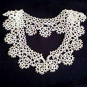 Аксессуары handmade. Livemaster - original item White lace collar. Handmade.