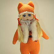 Куклы и игрушки ручной работы. Ярмарка Мастеров - ручная работа Рыжее чудо. Кукла Анечка. Handmade.