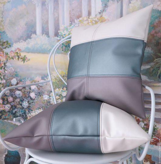 Текстиль, ковры ручной работы. Ярмарка Мастеров - ручная работа. Купить Комплект декоративных подушек № 1. Handmade. Разноцветный