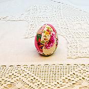 Яйца ручной работы. Ярмарка Мастеров - ручная работа Пасхальный сувенир, яйцо пасхальное, подарки к Пасхе, яйцо пэчворк. Handmade.