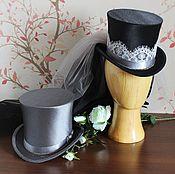 Свадебный салон ручной работы. Ярмарка Мастеров - ручная работа Свадебная пара цилиндров в стиле стимпанк. Handmade.