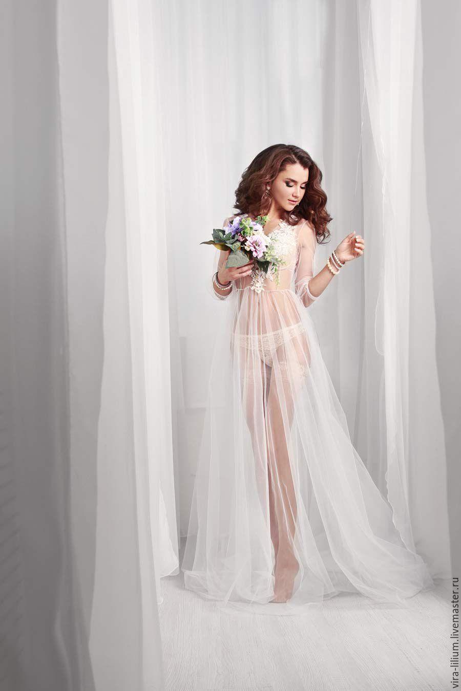Белье будуарное платье