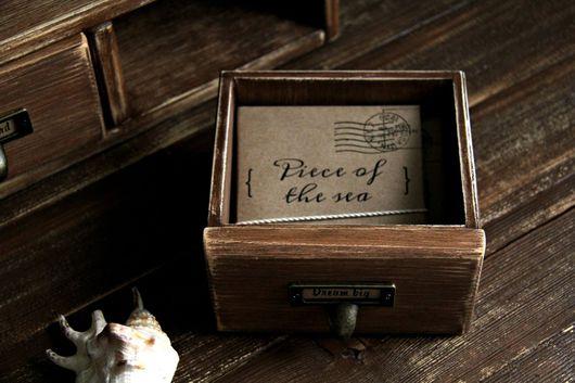 Подарочные наборы ручной работы. Ярмарка Мастеров - ручная работа. Купить Набор фотокарточек Piece of the sea. Handmade.