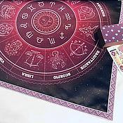 handmade. Livemaster - original item Table cloth for divination 50h50 cm.