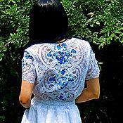 Одежда ручной работы. Ярмарка Мастеров - ручная работа Летнее БОХО макси платье (№302). Handmade.