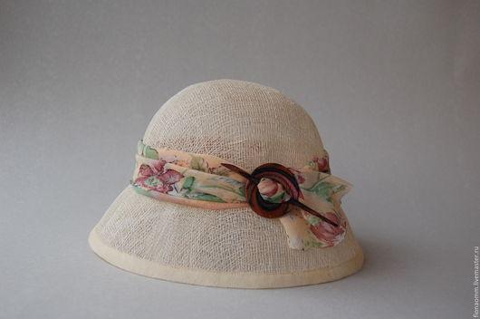 """Шляпы ручной работы. Ярмарка Мастеров - ручная работа. Купить Летняя шляпка """"Gala"""".. Handmade. Белый, летняя шляпка"""