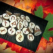 Фен-шуй и эзотерика handmade. Livemaster - original item Runes of Maple,natural look, wood with bark.. Handmade.