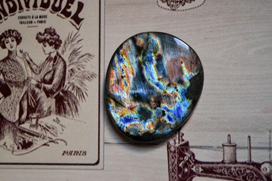 Для украшений ручной работы. Ярмарка Мастеров - ручная работа. Купить Лабрадорит спектролит. Кабошон 43 Х 37 Х 5. Handmade.