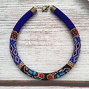 Necklace handmade. Livemaster - original item Harness bead