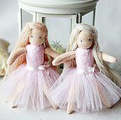 Вальдорфские куклы и звери ручной работы. Ярмарка Мастеров - ручная работа Вальдорфская кукла балерина 11 см. Handmade.