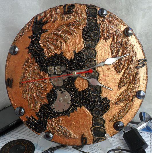 Персональные подарки ручной работы. Ярмарка Мастеров - ручная работа. Купить Часы настенные  Обезьяна в стиле стимпанк ( Steampunk ). Handmade.