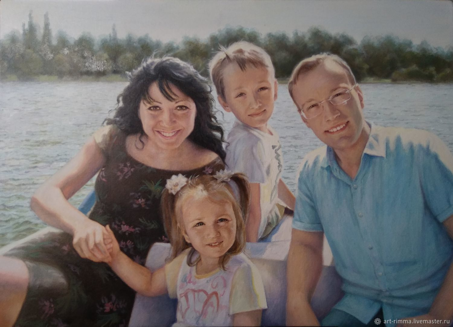 Family portrait. Camping, Pictures, Moscow,  Фото №1