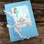 Канцелярские товары handmade. Livemaster - original item Notepad for the expectant mother. Handmade.