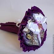 """Букеты ручной работы. Ярмарка Мастеров - ручная работа Чайный букет """"Эсмиральда"""". Handmade."""