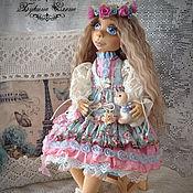 Куклы и игрушки ручной работы. Ярмарка Мастеров - ручная работа Катеринка, коллекционная, текстильная, интерьерная, подвижная кукла.. Handmade.