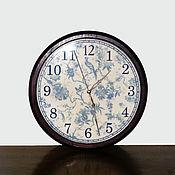 """Для дома и интерьера ручной работы. Ярмарка Мастеров - ручная работа Часы """"Райские птички"""". Handmade."""