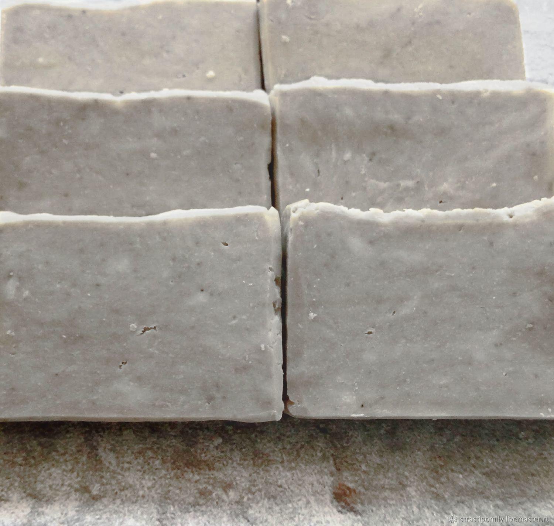 Stylish Gray натуральное мыло с нуля для мужчин, Мыло, Ростов-на-Дону,  Фото №1