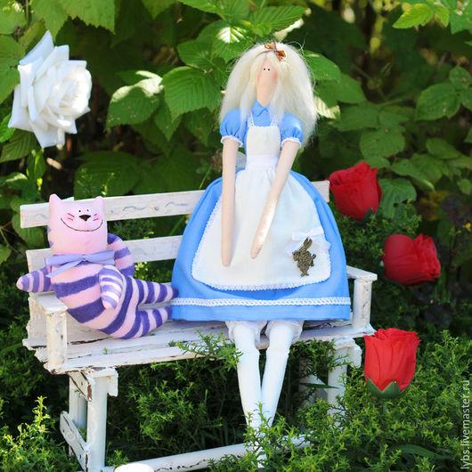 Алиса в стране чудес. Кукла Тильда. Авторская ручная работа. Мастерская `Tildaroom` (Люба Морозова) ©