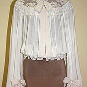 Одежда handmade. Livemaster - original item Blouse from the late 19th century Reconstruction. Handmade.