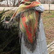 Аксессуары handmade. Livemaster - original item Scarves: Felted scarf