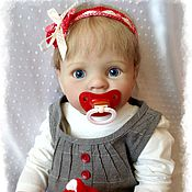 Куклы и игрушки ручной работы. Ярмарка Мастеров - ручная работа Кукла реборн на базе молда Jesse (Джесс) by Kelly Rubert. Handmade.