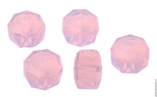 Для украшений ручной работы. Ярмарка Мастеров - ручная работа. Купить Rondelle Bead Rose Water Opal. Handmade. Бусины
