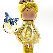 Куклы и пупсы ручной работы. Ярмарка Мастеров - ручная работа Текстильная кукла. Кукла текстильная.. Handmade.