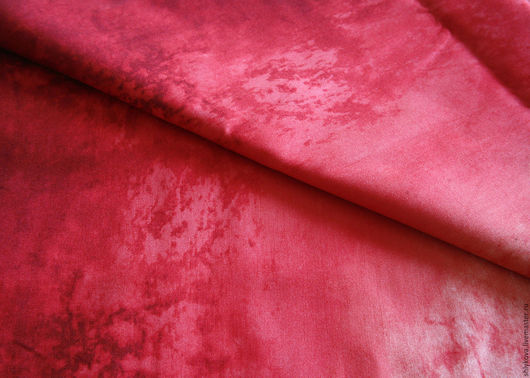 Шитье ручной работы. Ярмарка Мастеров - ручная работа. Купить Ткань для пэчворка.. Handmade. Фуксия, ткани, ткань для шитья, закат