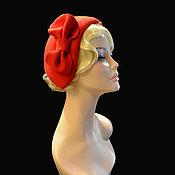 Аксессуары handmade. Livemaster - original item hats: Scarlet meningitis. Handmade.