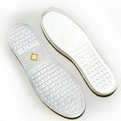 """Материалы для творчества ручной работы. Ярмарка Мастеров - ручная работа Подошва для обуви """"CASABLANCA"""" белая. Handmade."""