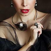"Necklace handmade. Livemaster - original item Колье ""Smokie"". Handmade."