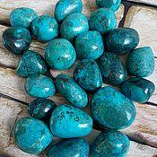 Материалы для творчества handmade. Livemaster - original item Chrysocolla, chrysocolla with malachite,cuprite ( Peru). Handmade.