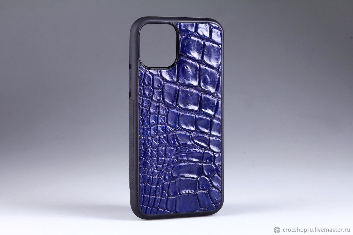 Case for any iPhone model made of crocodile skin IMA8102C, Case, Moscow,  Фото №1