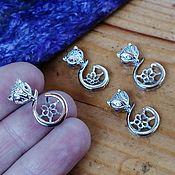 Материалы для творчества handmade. Livemaster - original item The basis for silver plated Art pendant. OKL92502. Handmade.