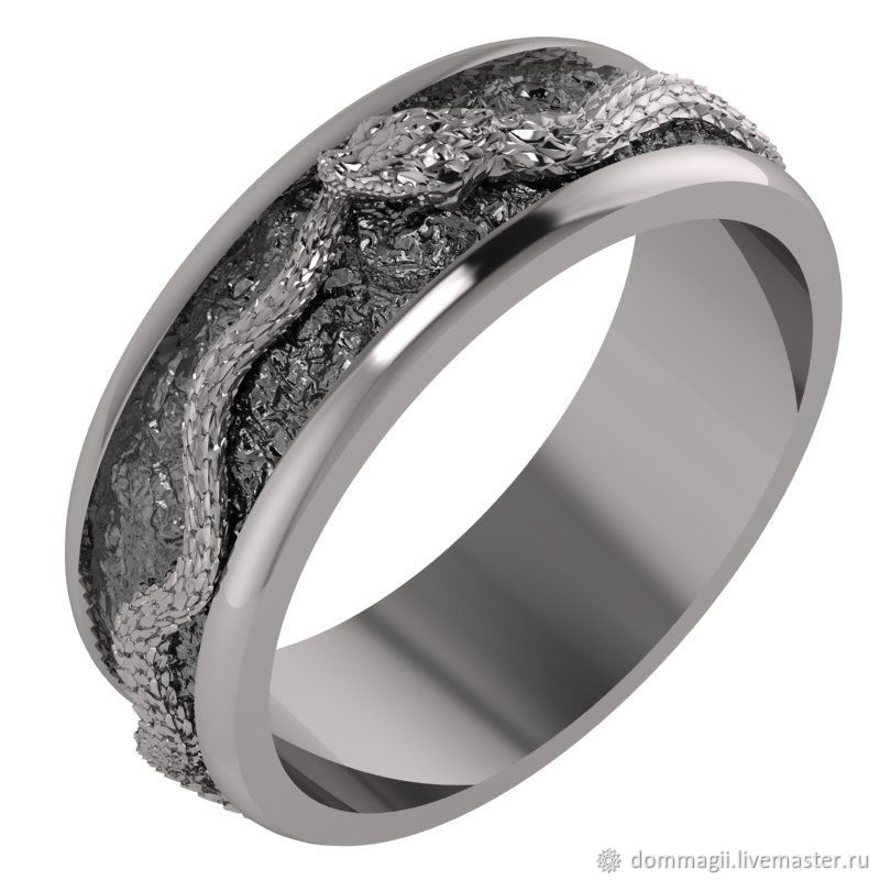 Ouroboros Ring, Amulet, Moscow,  Фото №1