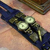 """Украшения handmade. Livemaster - original item Copy of ЧАСЫ СТИМПАНК """"CELTIC OBEREG-2"""" КВАРЦЕВЫЕ ЧАСЫ. Handmade."""