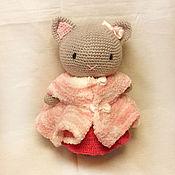 """Куклы и игрушки ручной работы. Ярмарка Мастеров - ручная работа Игрушка """"Кошка Киска"""". Handmade."""