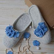 Обувь ручной работы handmade. Livemaster - original item Celestial Slippers in stock size 39. Handmade.