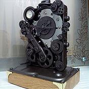Для дома и интерьера ручной работы. Ярмарка Мастеров - ручная работа Дизельпанк часы. Handmade.