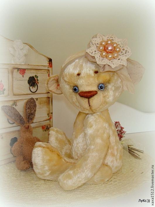 Мишки Тедди ручной работы. Ярмарка Мастеров - ручная работа. Купить Мишка Тедди Пина Колада (экрю). Handmade. Бежевый