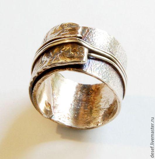 Кольца ручной работы. Ярмарка Мастеров - ручная работа. Купить Кольцо серебро. Handmade. Серебряный, авангард, перстень подарок