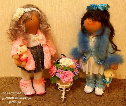 Две сестренки станут украшением вашего интнтерьера или любимыми игрушками ваших детей