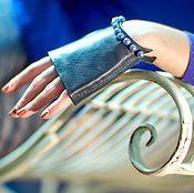 Аксессуары handmade. Livemaster - original item Exclusive car gloves Gift for March 8. Handmade.