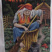 Картины и панно ручной работы. Ярмарка Мастеров - ручная работа Баба - Яга. Handmade.