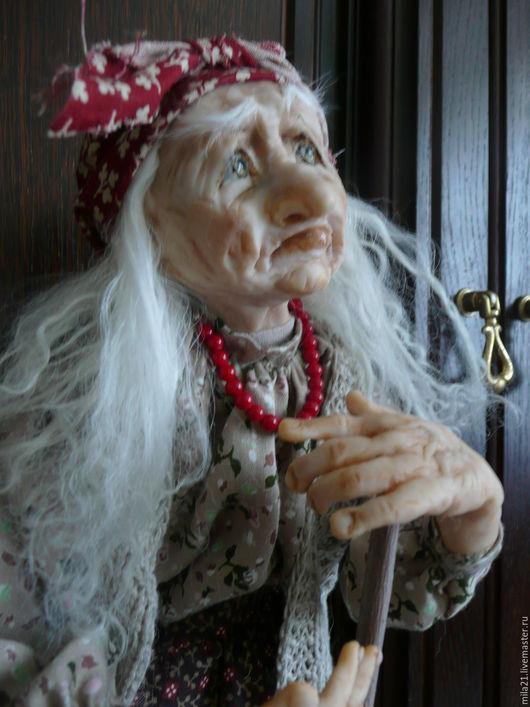Коллекционные куклы ручной работы. Ярмарка Мастеров - ручная работа. Купить Авторская кукла Баба Яга. Handmade. Комбинированный