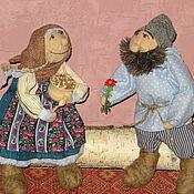 Куклы и игрушки ручной работы. Ярмарка Мастеров - ручная работа Я дарю тебе цветы.... Handmade.
