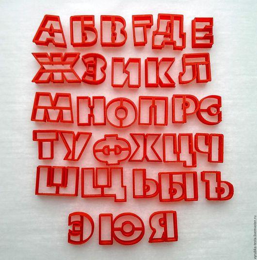 Кухня ручной работы. Ярмарка Мастеров - ручная работа. Купить Алфавит Futuris 2 см  -  вырубка для печенья, мастики. Handmade.