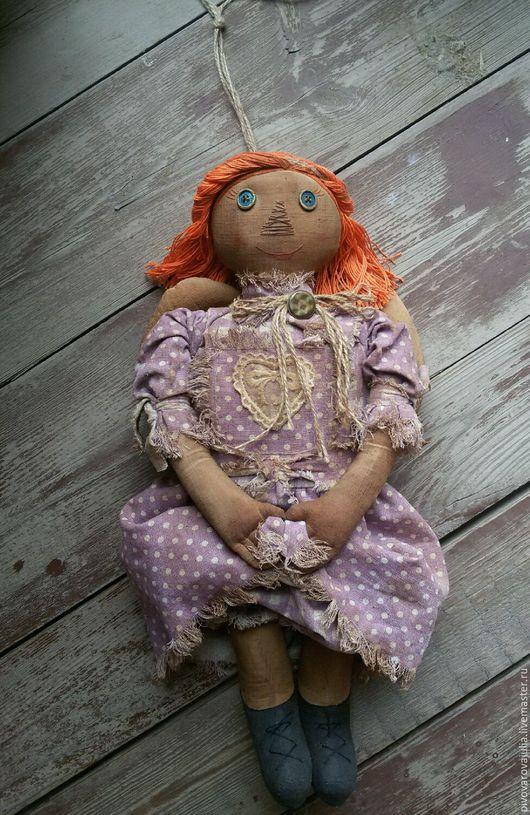 """Ароматизированные куклы ручной работы. Ярмарка Мастеров - ручная работа. Купить """"Ангелина"""" -   чердачный ангел..... Handmade. Бледно-сиреневый, в кафе"""