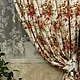 Текстиль, ковры ручной работы. Очарование кантри....... prosto Mariya (prostomariya). Ярмарка Мастеров. Шторы из хлопка, лён 100%