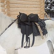 Для домашних животных, handmade. Livemaster - original item Set of Cossack saddle with a full pack of the sample of 1885. Handmade.